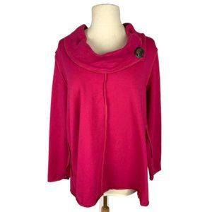 Neon Buddha Playful Cowl Pullover L